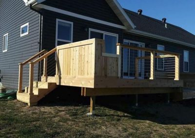 Cedar Deck Option